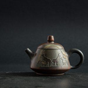 Керамический чайник Жирафы - 200 мл