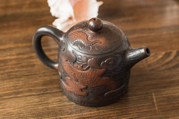 Керамический чайник Дракон - 270 мл