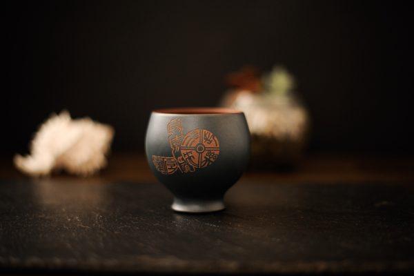 Пиала для чая из исинской глины Кубок - 120 мл