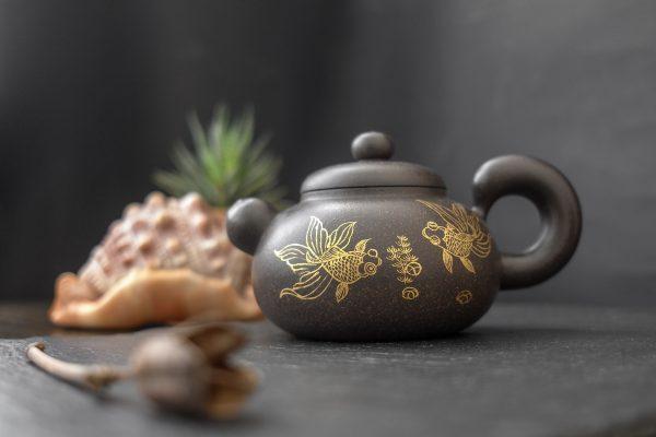 Исинский чайник Золотые рыбы - 280 мл
