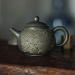 Хань Хай Мин Тао До Цю - Керамический чайник 300 мл
