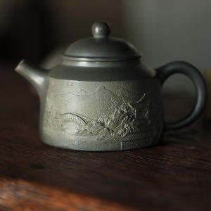 Хань Хай Мин Тао Чжун Ху - Керамический чайник 170 мл