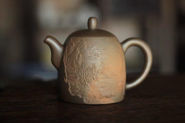 Хань Хай Мин Тао Колокол - Керамический чайник 290 мл