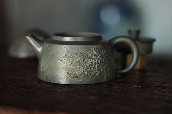 Хань Хай Мин Тао Ши Пяо - Керамический чайник 230 мл